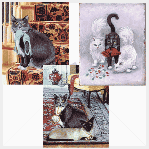 Klepto Cat Mystery Note Cards