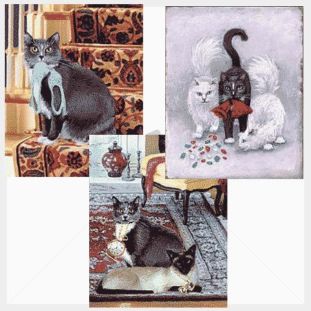 Klepto Cat Mystery Note Cards