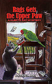 Rags Gets the Upper Paw, A Klepto Cat Mystery, Book 53